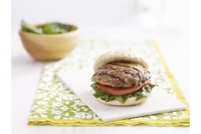 Grilled Portobello Mushroom Sandwich Image 1