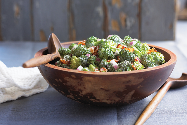 Tangy Broccoli Salad Image 1