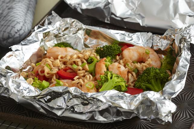 Foil-Pack Shrimp Ramen Image 1
