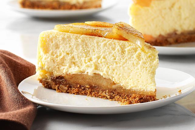 Gâteau au fromage à la tarte aux pommes  Image 1