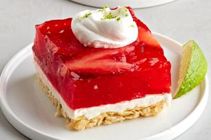 Strawberry-Citrus Margarita Squares