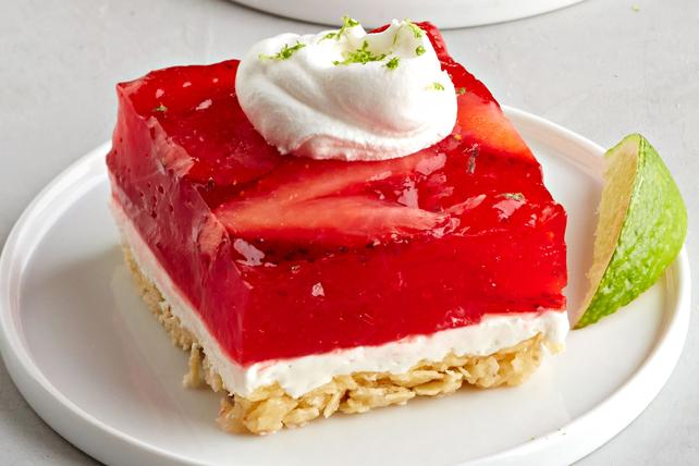 Carrés à la margarita fraise-agrumes Image 1