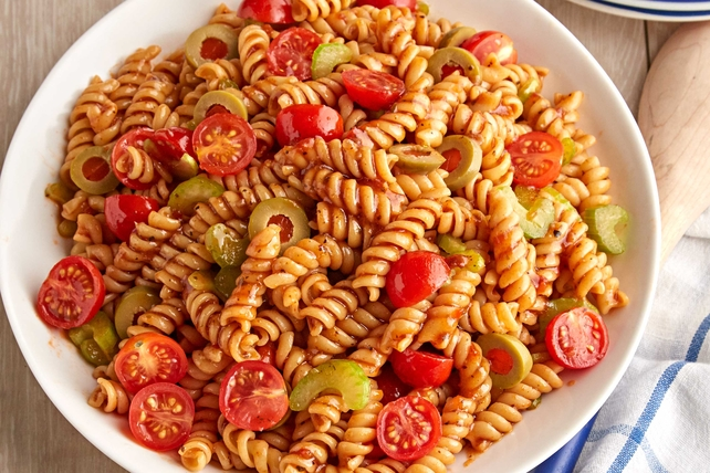 Bloody Mary Pasta Salad