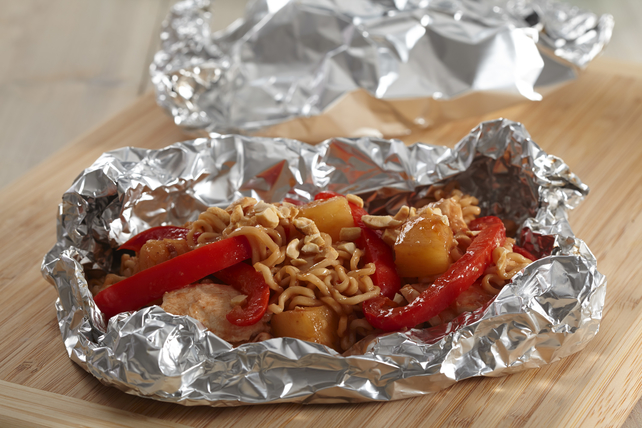 Easy Sweet-and-Sour Chicken Packets