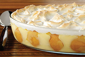 Meringue-Topped Southern Banana Pudding