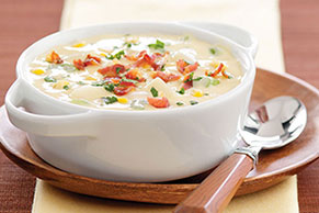 Bacon and Corn Chowder