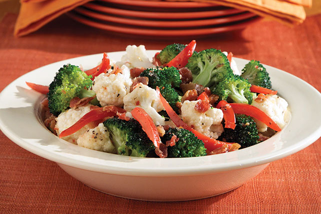 Broccoli-Cauliflower Salad Image 1