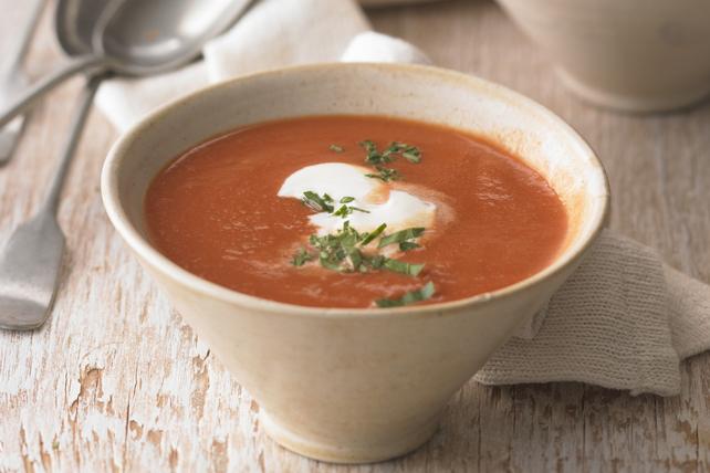Tomato and Sweet Potato Soup Image 1