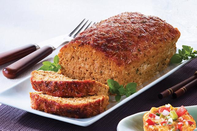 Pain de viande à la dinde et au parmesan Image 1