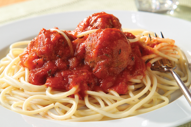 Spaghetti aux boulettes de viande Image 1