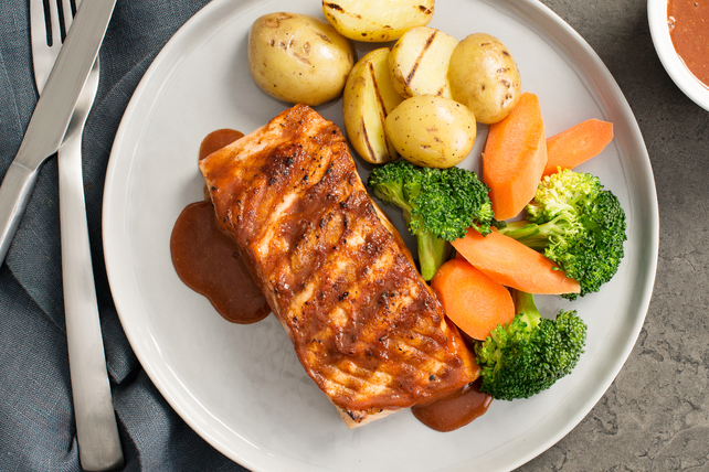 Moroccan Spiced Salmon Image 1