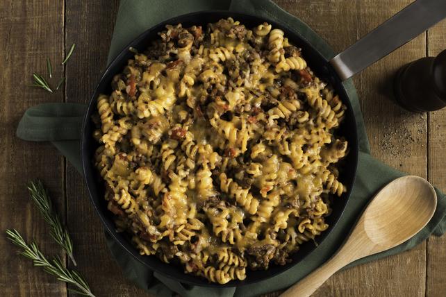 One-Pan Lentil-Beef Pasta Image 1