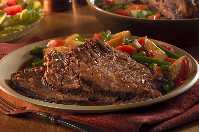 Slow-Cooker Pot Roast with Veggies Image 1