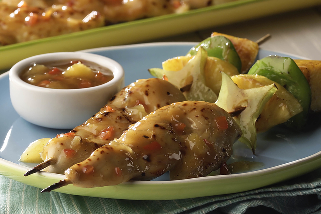 Tropical Chicken-on-a-Stick  Image 1
