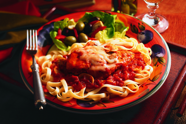 Chicken Cacciatore with Cheese Image 1