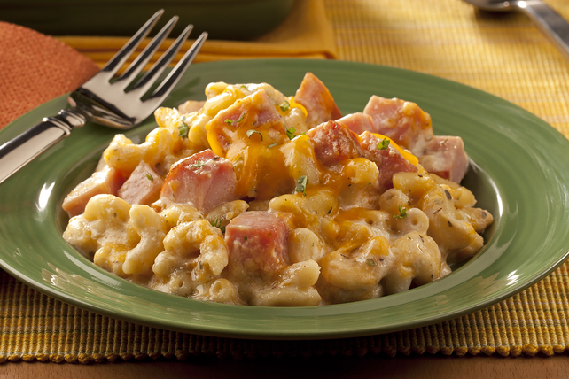 Gourmet Mac 'n Cheese with Ham Image 1