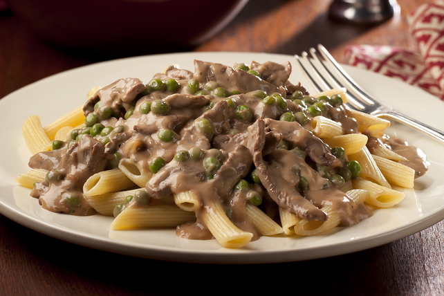 French-Style Onion-Beef Stroganoff Image 1
