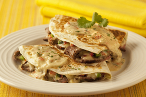 Spicy Steak Quesadillas