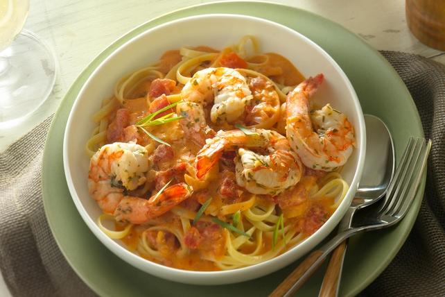 Zesty Shrimp Pasta with Garlic  Image 1