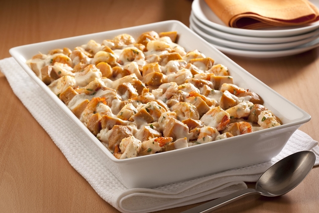 Sweet Potato & Shrimp Casserole  Image 1