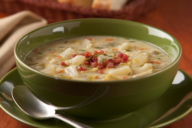 Creamy Potato-Leek Soup Image 1