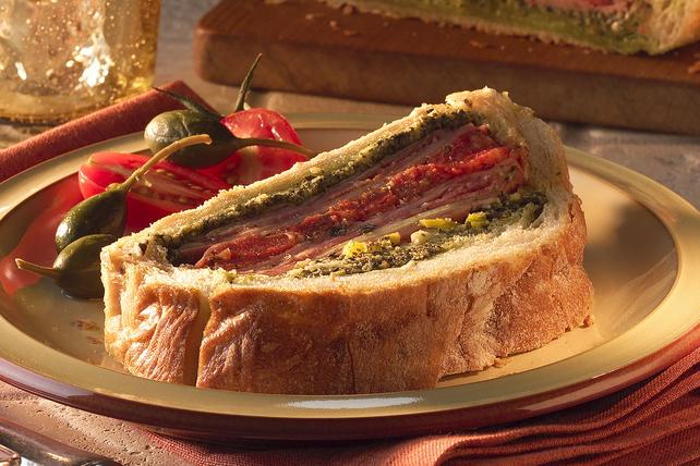 Stuffed Italian Deli Sandwich  Image 1