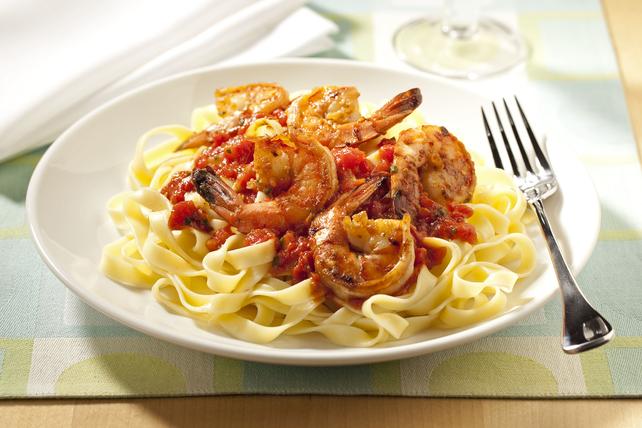 Spicy Shrimp Tagliatelle Image 1