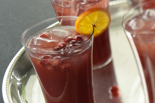 Sparkling Pomegranate Punch Image 1