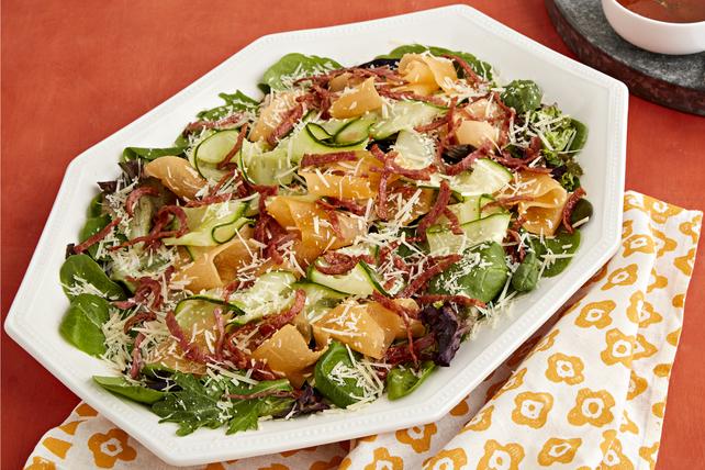 Cucumber-Melon Salad Image 1