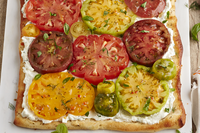Heirloom Tomato Tart Image 1