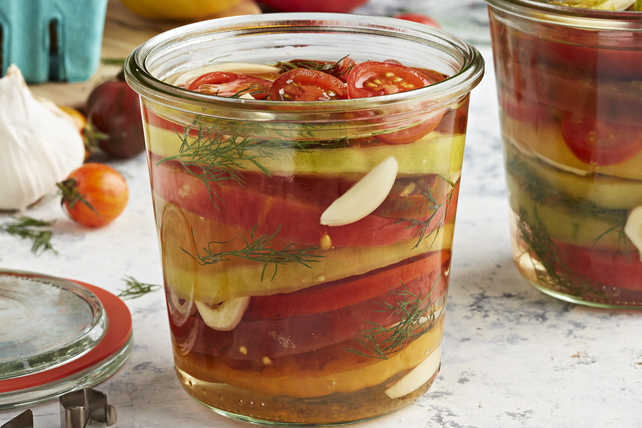 Quick Pickled Tomatoes Image 1