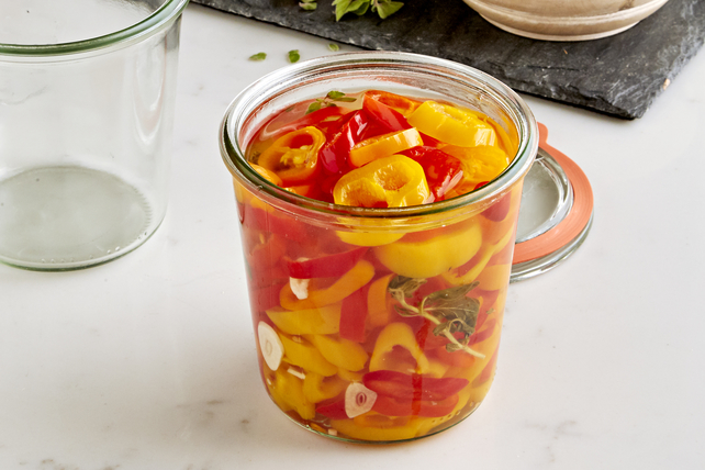 Quick Pickled Peppers Image 1