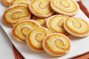 Pinwheel Candy Corn Cookies