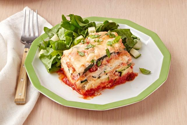 Lasagne aux courgettes à la mijoteuse Image 1