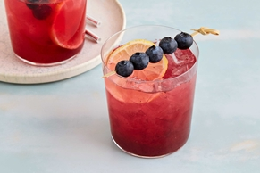 Blueberry-Lemonade Shrub