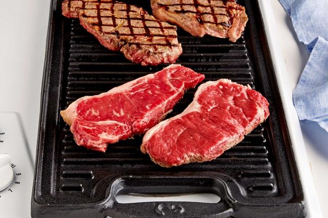 Restaurant-Style Grilled Steak Image 1