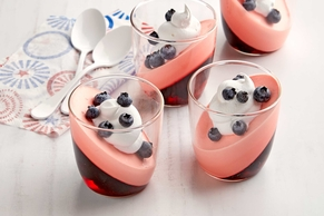 Red, White and Blue Patriotic Parfaits