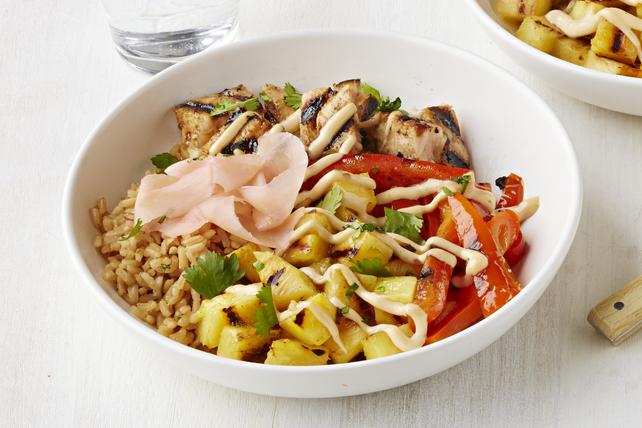 Bol de riz au thon grillé Image 1