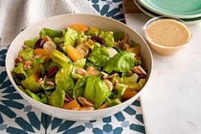 Latin Salad with Avocado Dressing