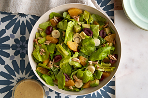 Latin Salad with Avocado Dressing