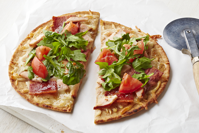 Bacon & Turkey Flatbread Image 1