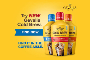 GEVALIA Marbled Coffee Blondie Cake