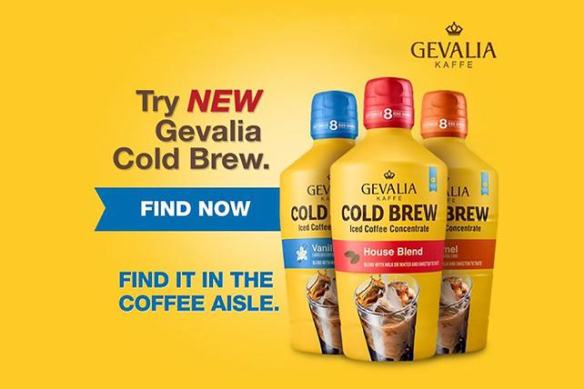 GEVALIA Marbled Coffee Blondie Cake Image 1