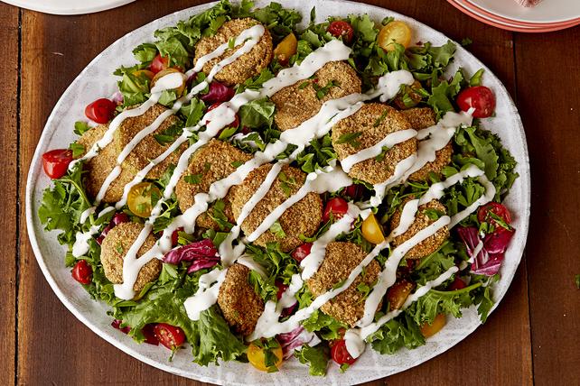 Salade de tomates vertes «frites» Image 1