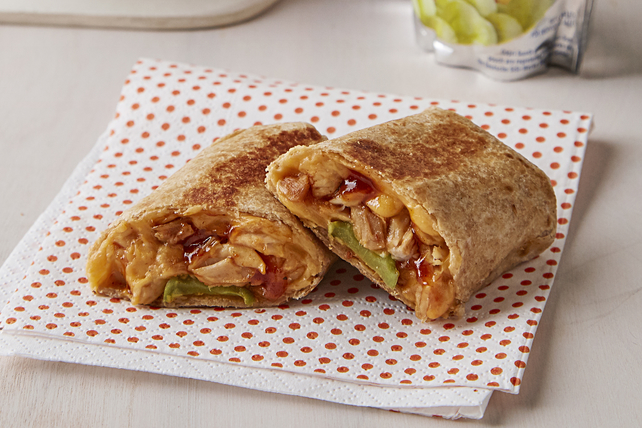 Mini BBQ Chicken Burritos Image 1
