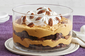 Brownie-Pumpkin Trifle