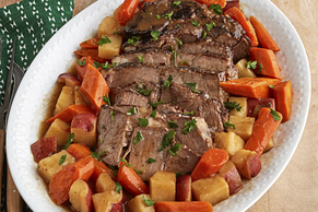 Pot Roast with Potatoes and Carrots