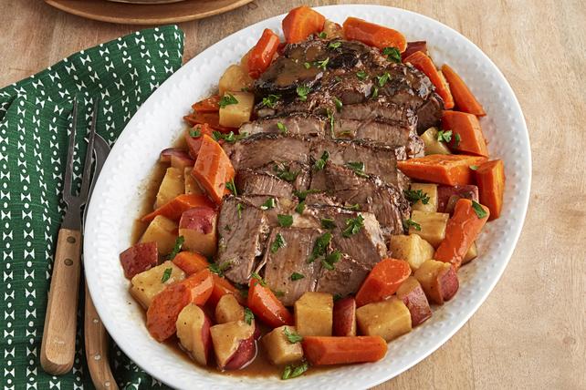 Bœuf braisé avec pommes de terre et carottes  Image 1