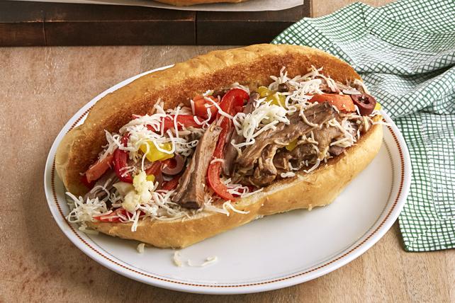 Italian Beef Sandwiches Image 1