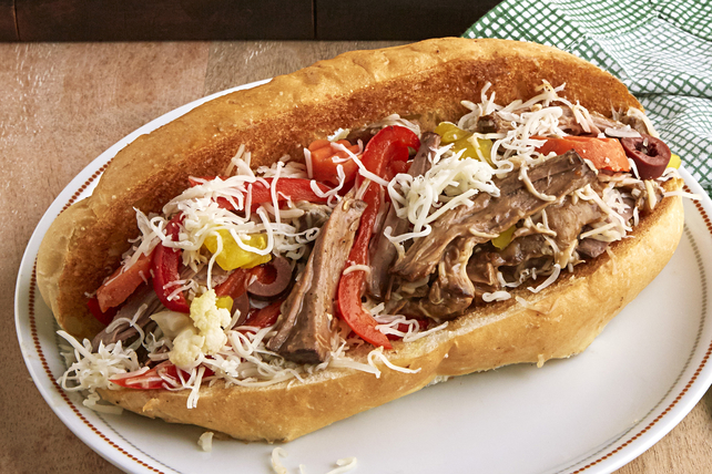 Pot Roast Italian Beef Sandwiches Image 1